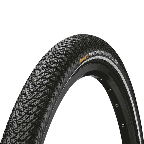 "Ulkorengas 28"" CONTINENTAL Top Contact Winter II Premium Reflex 37-622, musta"