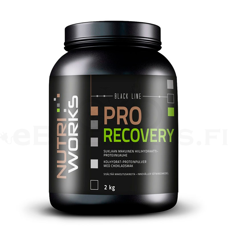 Nutri_Works_Black_Line_Pro_Recovery_Suklaa_2kg